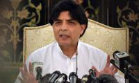 Party will be hurt if I tell reasons for not joining cabinet: Nisar