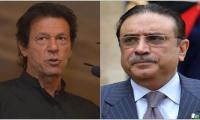 Zardari, Imran join hands for Senate chairman, deputy's election