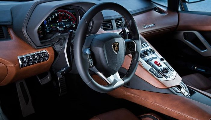 18k Gold Foil Lamborghini Aventador S Lands In Islamabad Top Story