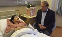 Speaking to Nawaz Sharif just before he lost his wife