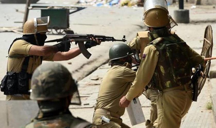 Indian troops martyr 14 Kashmiris in IHK