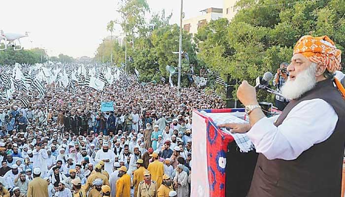 Fazl considering million march against Imran govt in March