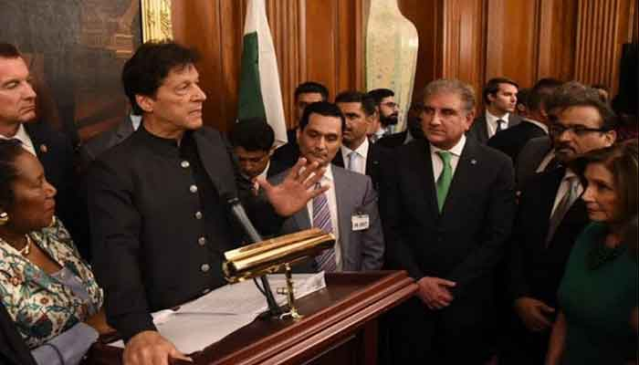 Gathering Taliban for parleys not easy: Imran   Top Story
