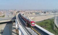 Orange Line Metro System: Delays cost Rs11 bn to national exchequer