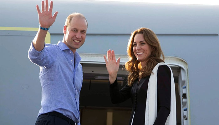 Kate Middleton opens up about `bumpy` flight to Lahore