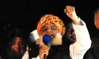 Azadi March sit-in: Fazl not going to leave capital empty-handed