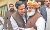 Fazlur Rehman ended march after understanding with govt, claims Pervaiz Elahi