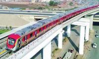 Orange Train rolls out for test run