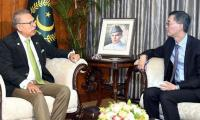 CPEC to play key role in boosting Pakistan-China relations: President Arif Alvi