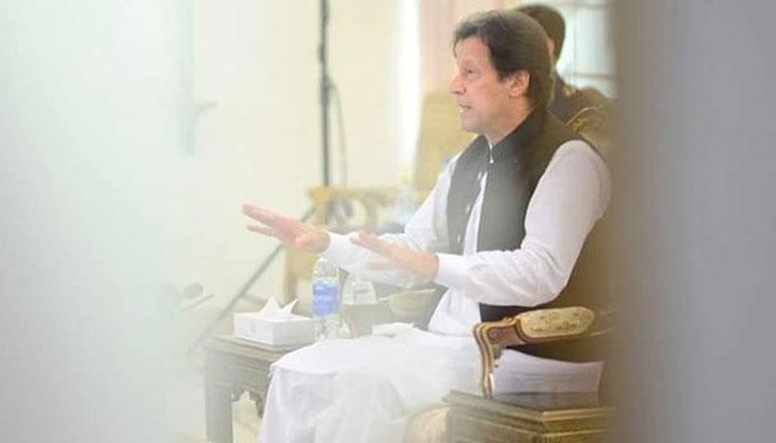 PM Imran Khan presents sonnet wrongly crediting on Allama Iqbal