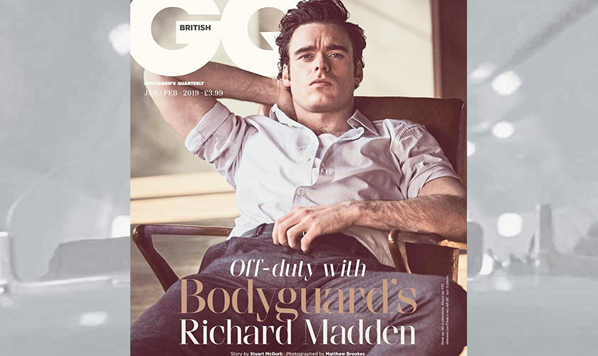 Richard Madden makes the cover of GQ