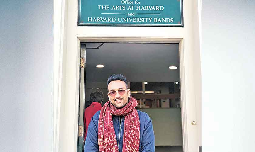 Image result for Ali Sethi Made Himself Second Pakistani to Perform at Harvard's Iconic Sanders Theatre