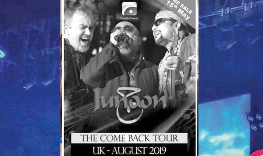 Thousands attend Junoon's London comeback concert