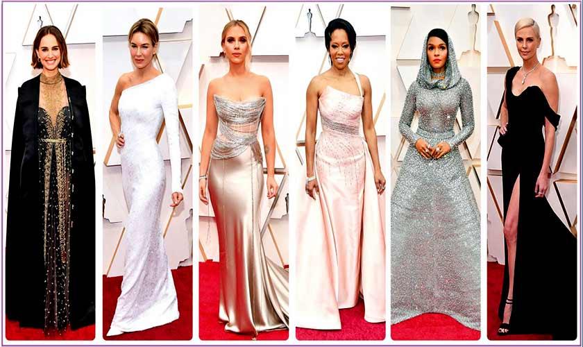 Oscars 2020 Natalie Portman Renee Zellweger Scarlett Johansson Regina King Janelle Monae Charlize Theron S Head Turning Looks Instep Thenews Com Pk