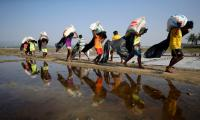 Myanmar says China endorses crackdown on Rohingya