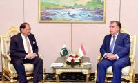 Pakistan invites Tajikistan to benefit from CPEC