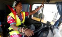 In Pakistan's coal rush, some women drivers break cultural barriers