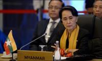 Myanmar´s Suu Kyi meets Tillerson, UN chief on Rohingya crisis