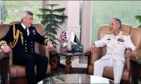 Chief of Naval Staff Royal Navy UK visits Pakistan