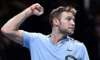 Sock edges Cilic to keep ATP Finals dream alive