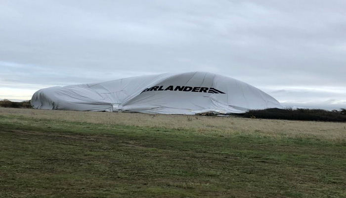 World's largest aircraft Airlander 10 crashes In Cardington