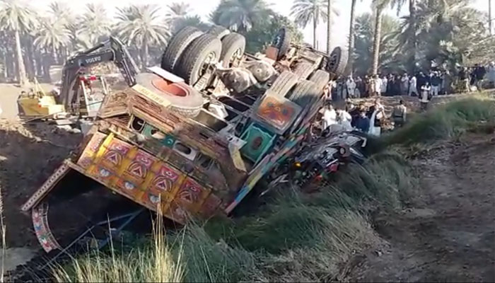 20 killed in Pakistan road mishap