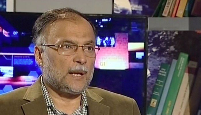 Ahsan Iqbal must resign on Faizalabad sit-in issue: PTI spokesperson
