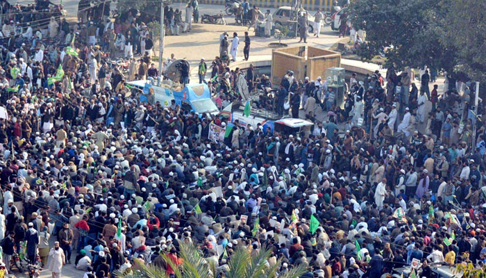 Protesters detained during sit-ins released from prisons across Punjab