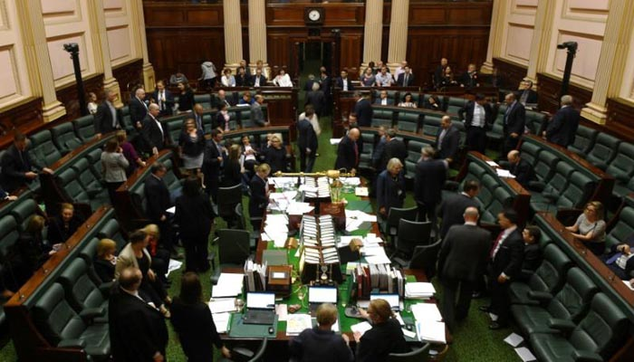 Assisted-dying bill passes the Victorian parliament