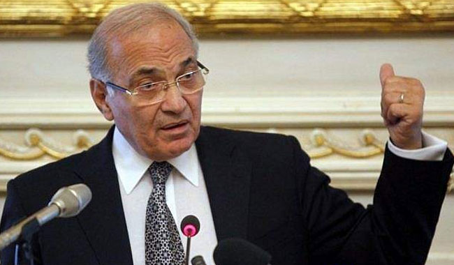 Former Egyptian PM Ahmed Shafiq left Emirates to Cairo