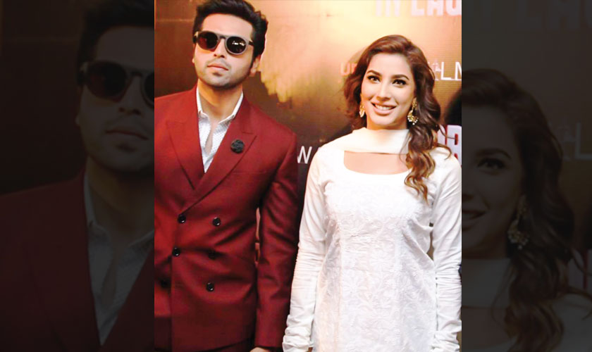 Mehwish Hayat And Fahad Mustafa Who Last Starred Together In Nabeel Qureshi Fizza Ali Meerza S Actor Law Are Looking All Set To Star Another Film