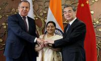Russia urges India to line up behind China's Belt and Road initiative