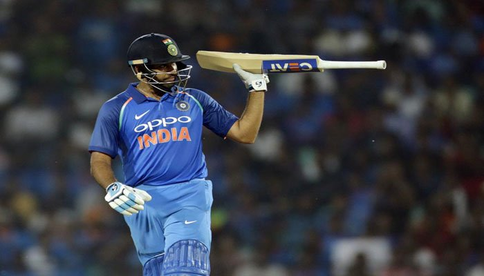 Rohit Sharma: India batsman equals fastest Twenty20 worldwide century against Sri Lanka