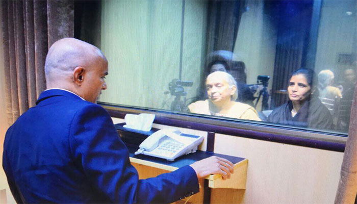 Pak rejects India's charges on Jadhav-family meet as baseless