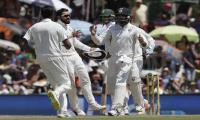 Run-outs and Ashwin boost India against South Africa