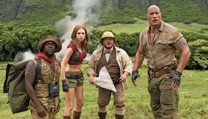 'Jumanji' leads the box office pack over holiday weekend