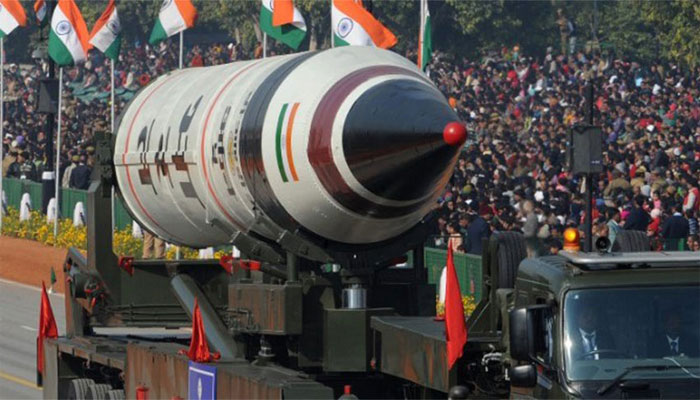 Watch India fire new nuclear-ready missile capable of striking China
