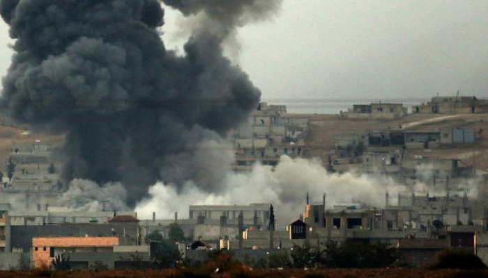 Precision Strikes Kill 150 IS Terrorists in Syria, Coalition Says