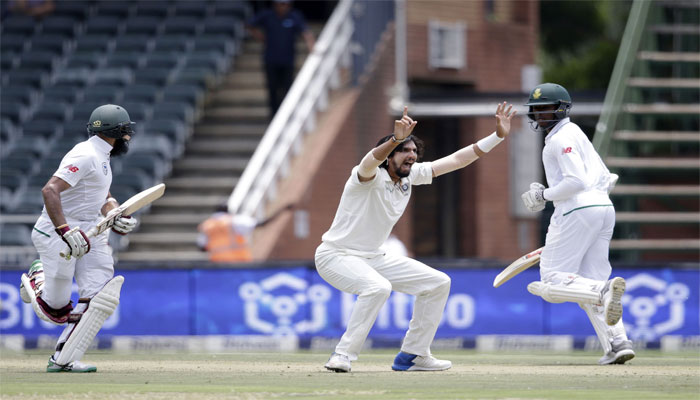 Pujara plays 54 deliveries to get off the mark