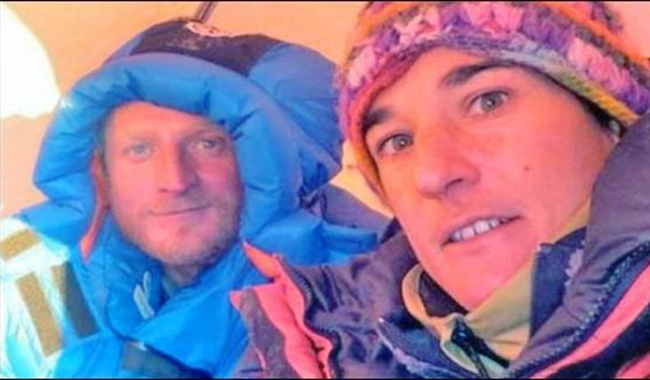 French climber saved on Pakistan's 'killer mountain' arrives home