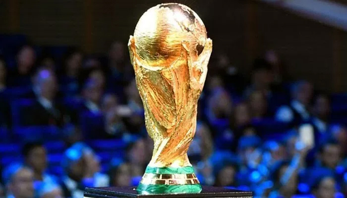 FIFA Word Cup trophy unvielded in Lahore