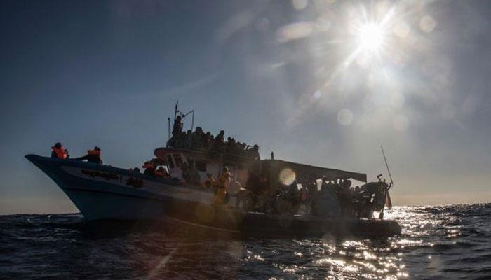 Smuggler's boat capsizes in Mediterranean Sea off Libya; 90 Pakistani suspected dead