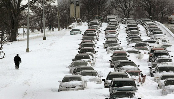 Climate Service forecasts heavy snow from Chicago to Detroit