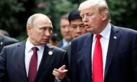 Putin discusses Middle East peace process with Trump by phone