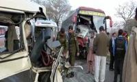 Gujranwala道路交通事故中有6人遇难,20人受伤
