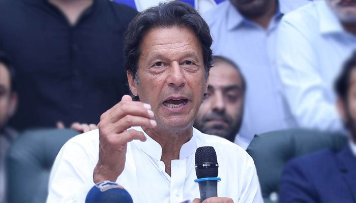 Imran defends Ali Tareen-says PML-N spent money to win by-election