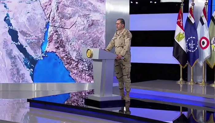 Egyptian army Puts militant death toll in Sinai at 38