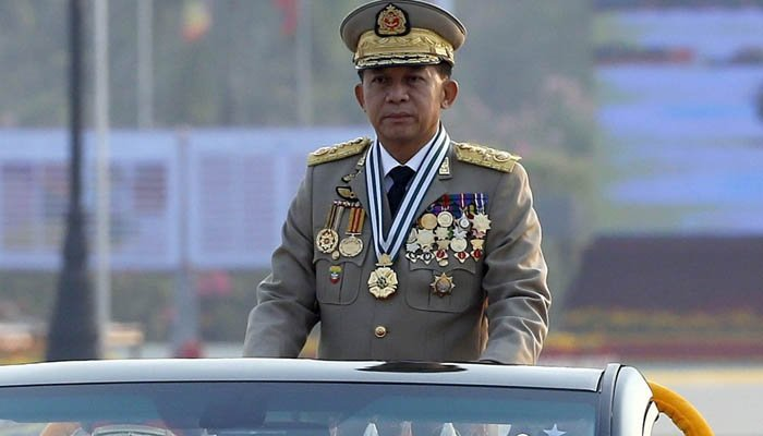 Myanmar army chief honored by Thailand despite Rohingya crisis