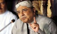 Zardari regrets his remarks about Rao Anwar