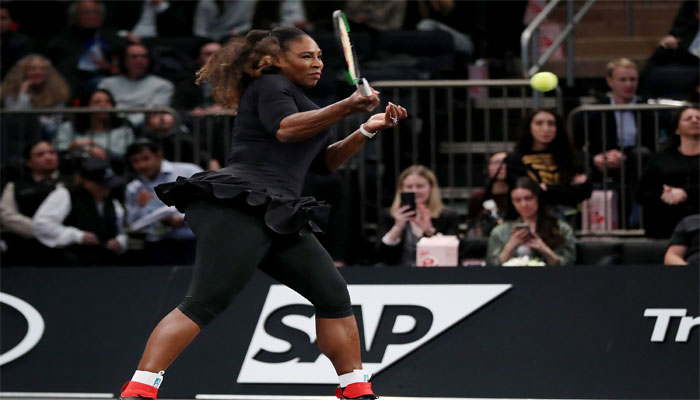 Serena starts comeback with win